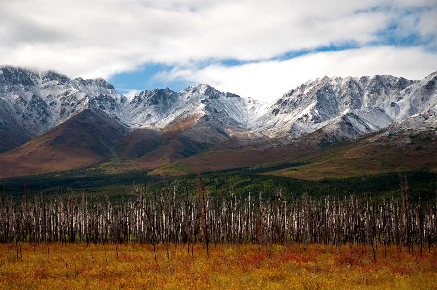 Autumn in the Alaska Range-David Mondor