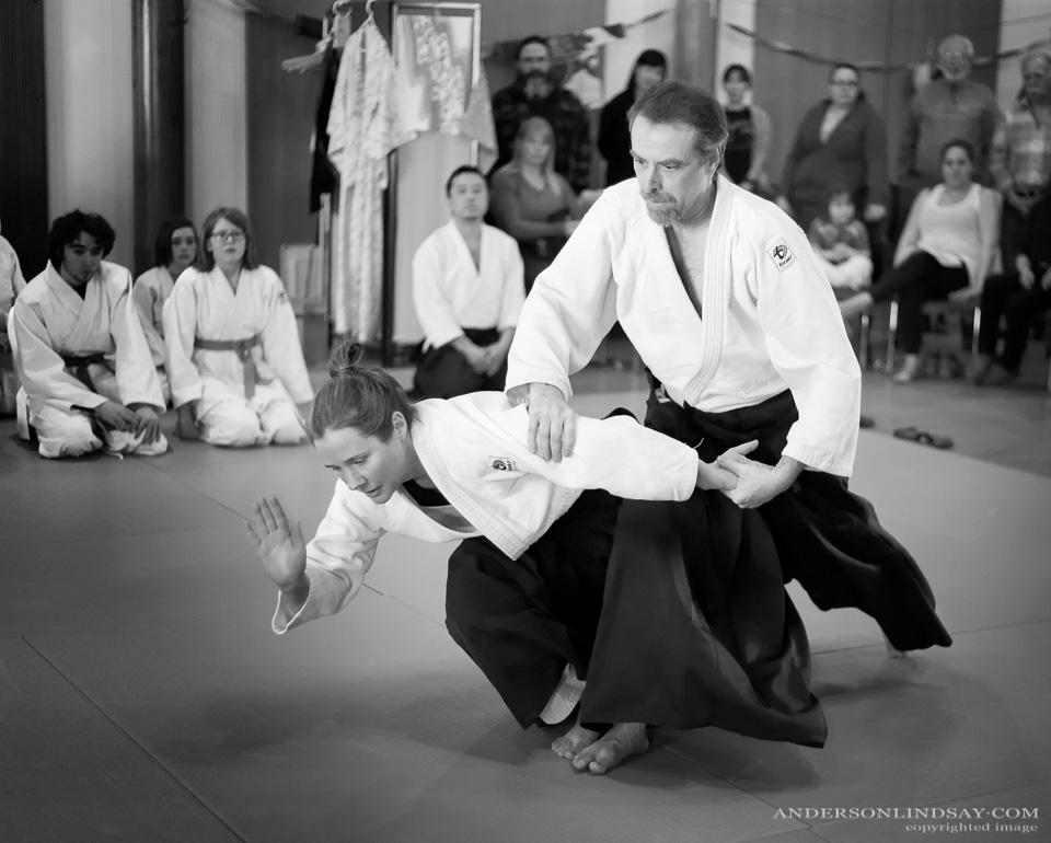 Aikido demonstration