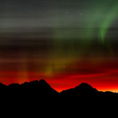 Lady Aurora Starting to Dance  ©Ingrid Wilcox