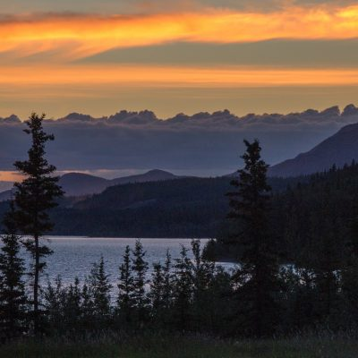 Teslin Sunset © Ray Marnoch