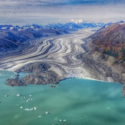 Receding Glacier © Nickole Wlasichuk