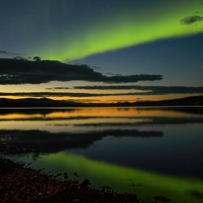 Aurora at Sunset ©Wendy Eby