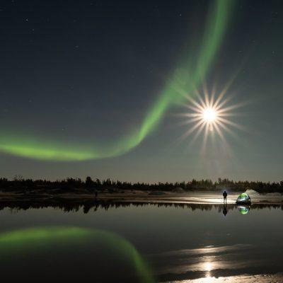 Northern Nights, Northern Lights  © Ingrid Wilcox